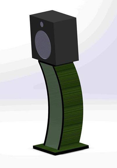 Стойка для акустической системы ДСП Rec-K